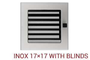 INOX 17×17 with blinds