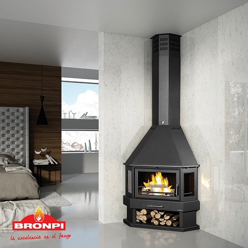 LORCA-R-fireplace - freestanding